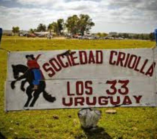 Fiesta ecuestre recreativa en Sociedad Criolla los Trinta y tres.